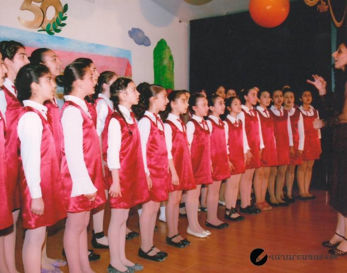 Դպրոցի 50 ամյակը