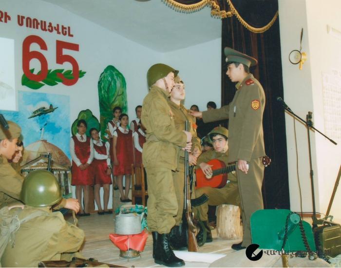 Հայրենական պատերազմի  65-րդ տարեդարձը